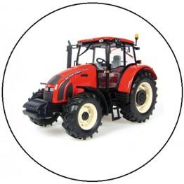 Opłatek na tort Traktor-6-20cm