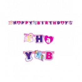 Banner urodzinowy My Little Pony-180 cm