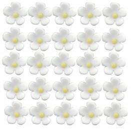 Kwiatuszki mini białe-100 sztuk