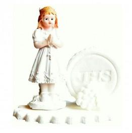 Figurka komunijna Dziewczynka z hostią