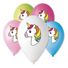 Balony Jednorożec-Premium-5 sztuk-Gemar