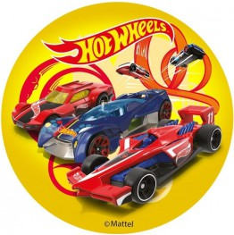 Opłatek na tort Hot Wheels-3-20cm