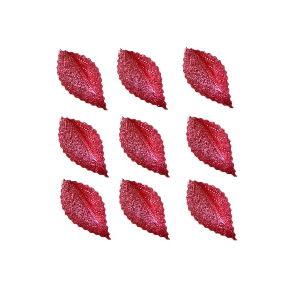 Listki z wafla burgund-100 sztuk