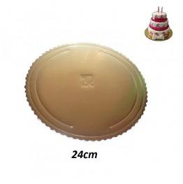 Talerzyki papierowe-Vaiana-23cm 8 sztuk