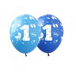 Balony piłkarskie-3 kolory-6 sztuk