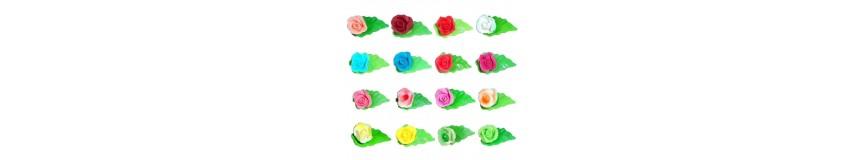 Kwiatek na listku-kolory