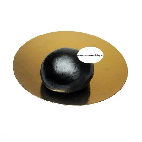 Lukier plastyczny czarny 250g