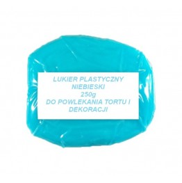Lukier plastyczny niebieski 250g
