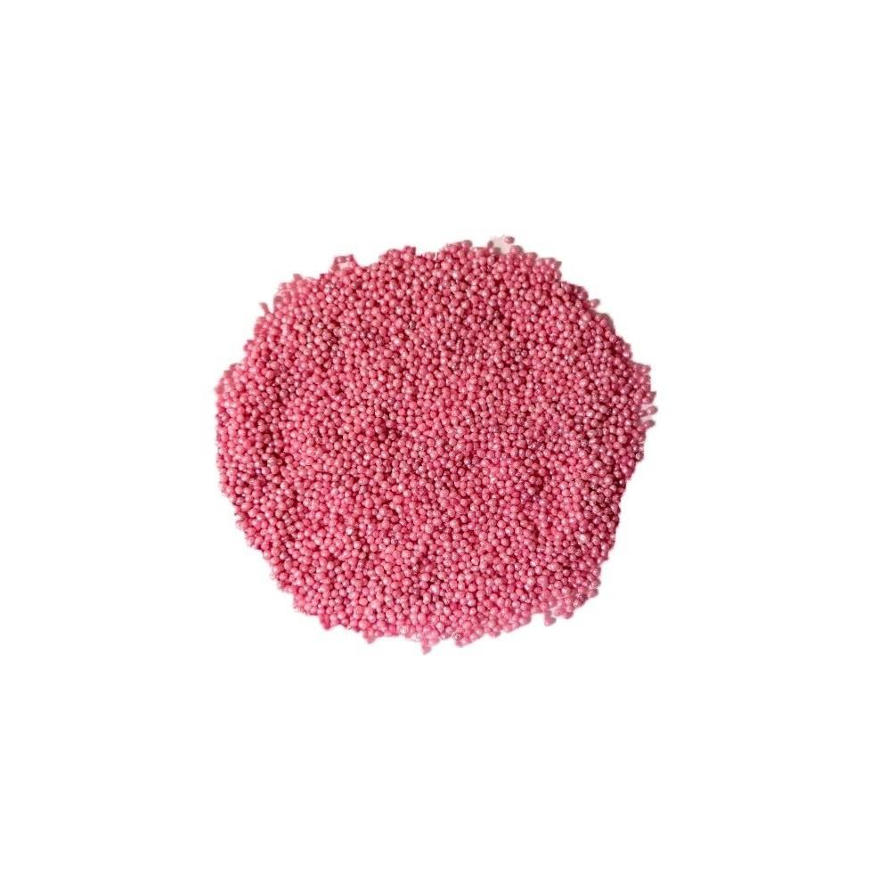 Maczek cukrowy perłowy różowy 1kg