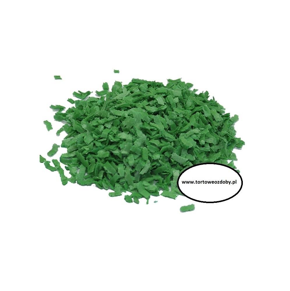 Posypka waflowa oliwkowa 100g