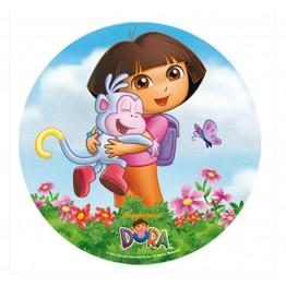 Opłatek na tort Dora-Nr 3-21cm