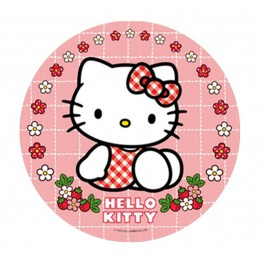 Opłatek na tort Hello Kitty-Nr 2-21cm