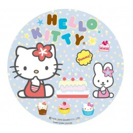 Opłatek na tort Hello Kitty-Nr 6-21cm