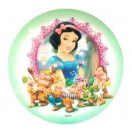 Opłatek na tort Królewna Śnieżka-Nr 2-21cm