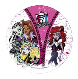 Opłatek na tort Monster High-Nr 6-21cm