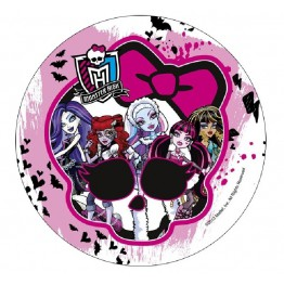 Opłatek na tort Monster High-Nr 7-21cm
