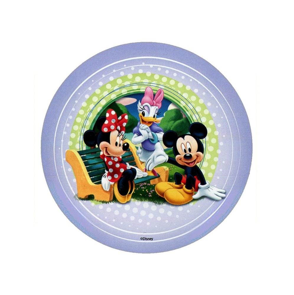 Opłatek na tort Myszka Miki-Nr 3-21cm