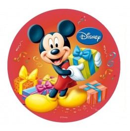 Opłatek na tort Myszka Miki-Nr 9-21cm