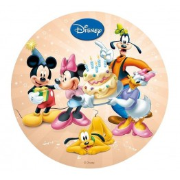 Opłatek na tort Myszka Miki-Nr 11-21cm