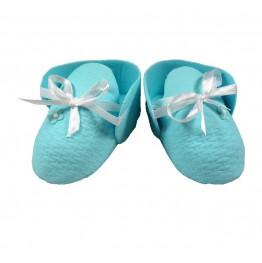 Para bucików niebieska dla chłopca