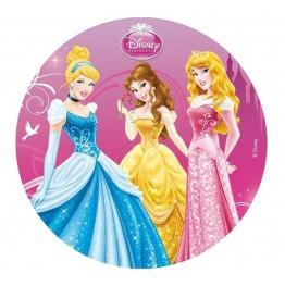 Opłatek na tort Księżniczki-Nr 3-21cm