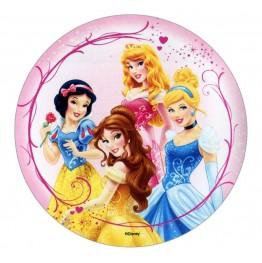 Opłatek na tort Księżniczki-Nr 6-21cm