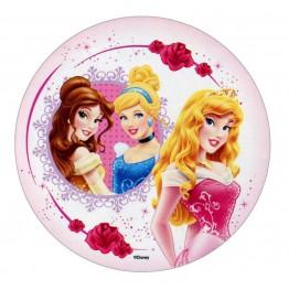 Opłatek na tort Księżniczki-Nr 8-21cm