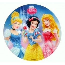 Opłatek na tort Księżniczki-Nr 9-21cm