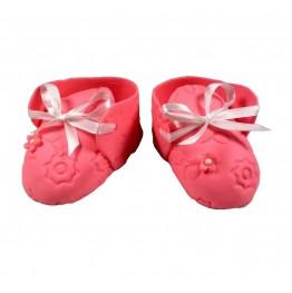 Para bucików różowa dla dziewczynki