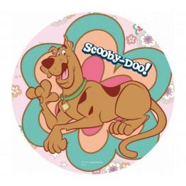 Opłatek na tort Scooby Doo-Nr 1-21cm