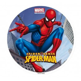 Opłatek na tort Spiderman-Nr 1-21cm