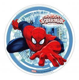 Opłatek na tort Spiderman-Nr 6-21cm