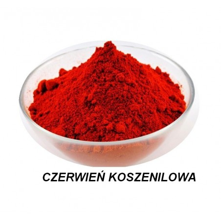 Barwnik w proszku czerwony 6g