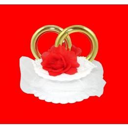 Obrączki ślubne czerwone