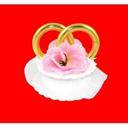 Obrączki ślubne różowe