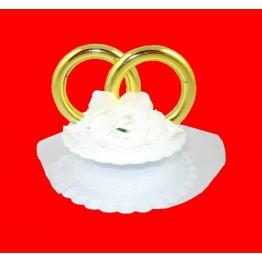 Obrączki ślubne białe