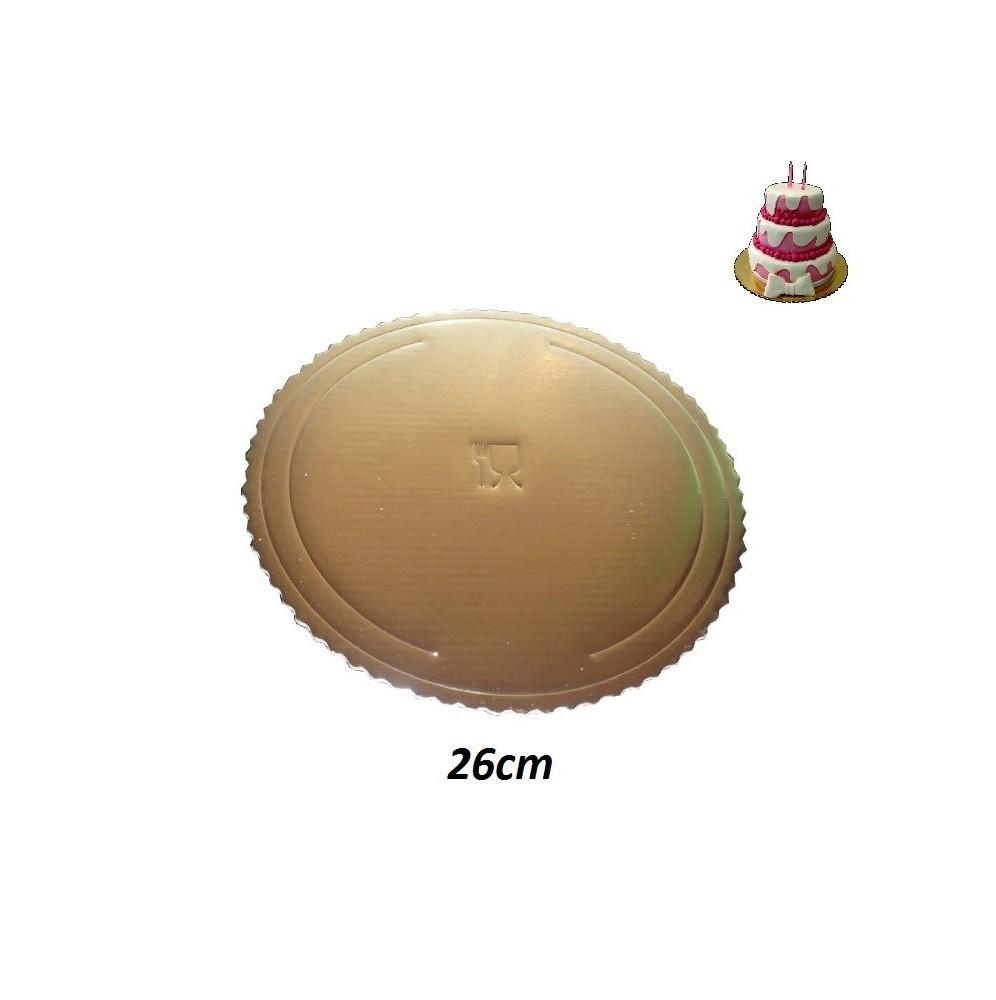 Podkłady pod tort okrągłe Grube-26cm