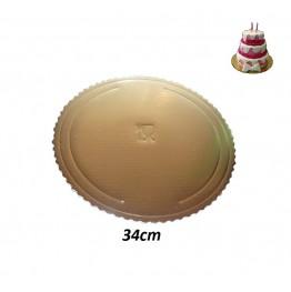 Podkłady pod tort okrągłe Grube-34cm
