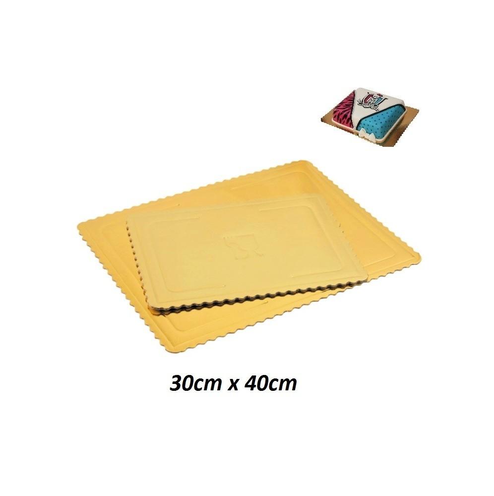 Podkłady pod tort prostokątne Grube-30cm x 40cm