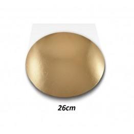 Podkłady pod tort okrągłe Cienkie-26cm