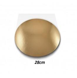 Podkłady pod tort okrągłe Cienkie-28cm