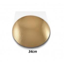 Podkłady pod tort okrągłe Cienkie-34cm