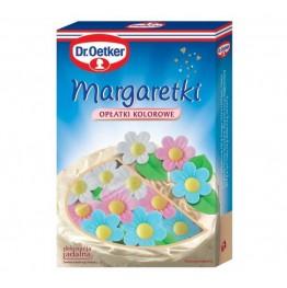 Margaretki kolorowe z wafla Dr Oetker