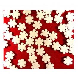 Konfetti cukrowe płatki śniegu 20g
