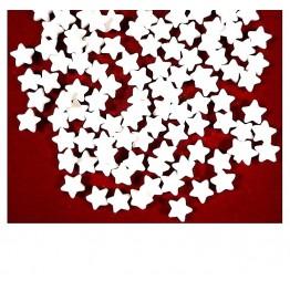 Konfetti cukrowe białe gwiazdki 500g