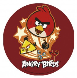 Opłatek na tort Angry Birds-Nr 1-21cm