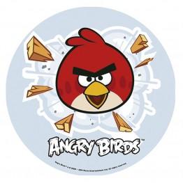 Opłatek na tort Angry Birds-Nr 2-21cm