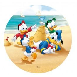 Opłatek na tort Kaczor Donald-Nr 1-21cm
