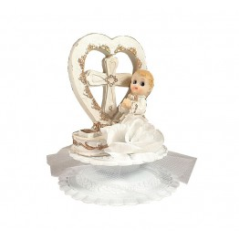 Figurka komunijna Chłopiec z sercem