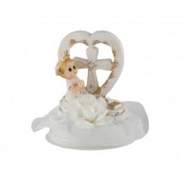 83bdeea89bd887 Figurka komunijna Dziewczynka z sercem